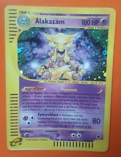 Pokemon Expedition Base Set Holo, Alakazam 1/165