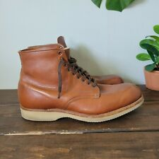 Alden Indy Boot Leather Chukka Classic Brown Mens 9.5