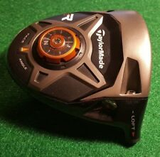 TAYLORMADE R1 BLACK TOUR ISSUE MEN'S RIGHT-HANDED DRIVER HEAD ONLY! GOOD/VG!!