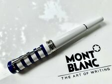 Montblanc rollerball Fine Liner bonheur Weekend Collection White & Blue original