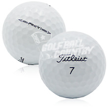 24 Near Mint Titleist Pro V1 2016 AAAA Used Golf Balls - FREE Shipping
