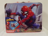 NEW SEALED Marvel Spider-Man Lunch Box & Puzzle Set Spider-Gwen