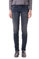 DIESEL W30 L34 Francy 0838V STRETCH Distressed Faded Skinny Jeans Made in Italy