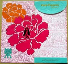 Ang pow red packet Hush Puppies 2 pcs new # W