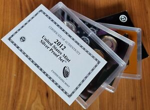 2012 US Mint Silver Proof Set with Box & COA - 14 Coins