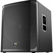 Electro Voice ELX200-18SP 18in 1200W Active Powered  Subwoofer - Black