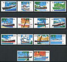 ST. Kitts 1990 NAVI SHIPS navi prigioniere libero marchi 286-299 post FRESCHI MNH