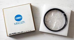 Minolta AF 300 mm f/2.8 Apo front 114 mm CLR filter! Very rare!