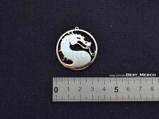 Mortal Kombat Necklace stainless steel Pendant merch logo symbol