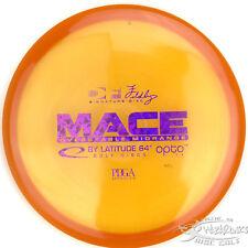 New Orange Opto Mace Midrange 176g Latitude 64 Disc Golf Sparkle Purple Stamp