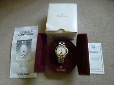 BULOVA Mens V-00236 Accutron Marco Polo Watch