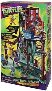 Teenage Mutant Ninja Turtles Secret Sewer Lair Playset TMNT 2012