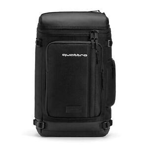 Original Audi Quattro Backpack, schwarz Rucksack