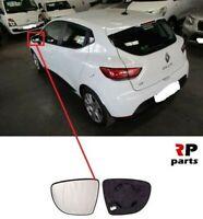 Per Renault Clio IV 12-19 Specchietto Laterale Riscaldabile con Telaio SX E / S
