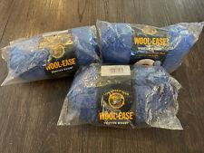 Lion Brand wool ease yarn Blue Heather 7 oz Same Dye Lot