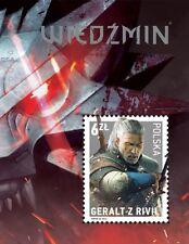 Polen / Poland - Postfris/MNH - Sheet The Witcher 2016