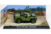 James Bond 007 Willys Jeep M606 Octopussy 1/43 Eaglemoss
