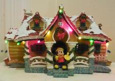 Disney Mickey Toon town Holiday Christmas house