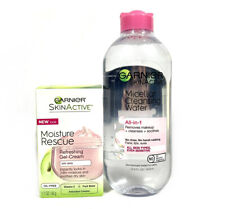 Garnier SkinActive Moisture Rescue Gel-Cream + All In 1 Micellar Water 13.5oz