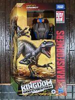 """Transformers WFC Kingdom 7"""" Figure Voyager Wave 2 - Dinobot"""