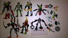 Lot légo Bionicle 7 personnages + vrac 690g (A déb.)