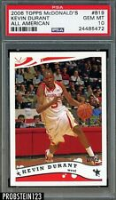 2006-07 Topps McDonald's All American Kevin Durant RC Rookie PSA 10