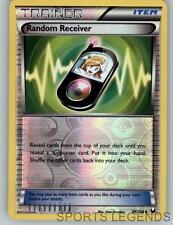 2012 pokemon Dark Explorers reverse holo Random Receiver 99/108