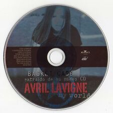 "AVRIL LAVIGNE ""BASKET CASE"" ULTRA RARE SPANISH PROMO PICTURE CD SINGLE"
