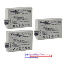 Kastar Replacement Battery for Canon LP-E5 LC-E5 & Canon EOS 1000D Camera