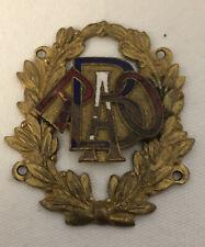 Rare Vintage RAOB Enamelled Metal Masonic Badge