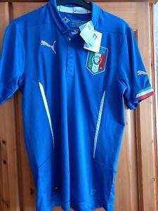ITALY 2014/2016 HOME FOOTBALL SHIRT  NATIONAL TEAM JERSEY