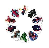 Marvel Guitar Picks [Featuring Captain Marvel](10 Medium Gauge Picks in a Pack)