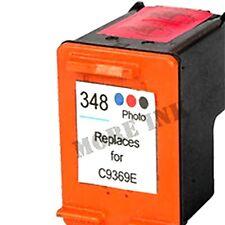 HP348 rempli 348 Photo Noir Imprimante Encre Cartouche Deskjet D4168 D4200