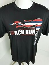 Torch Run Honolulu Police Law Enforcement Cool Dri Fit Men's Black Shirt Size L