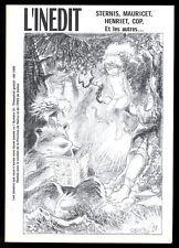 INEDIT  ( L' )  N° 10   STERNIS - MAURICET -HENRIET     ETE  1999