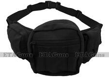 CONDOR BLACK Concealed Carry Fanny Pack Handgun Pistol Gun Pouch Case Holster