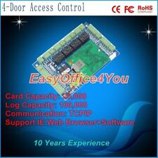 4-Door TCP/IP Access Control Board with IE Browser and Free Software