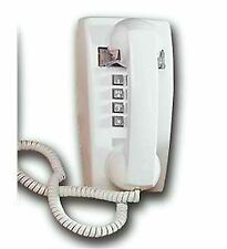 Cortelco ITT-2554-V-WH 255415-VBA-20M traditional mini-wall phone w/ Volume WHIT
