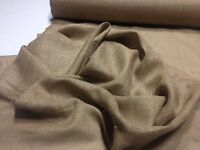 """Burlap Natural Jute Fabric 10 Oz 72"""" Wide By The Yard Premium Vintage Upholstery"""