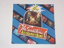 THE SENSATIONAL ALEX HARVEY BAND -Live- LP