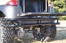 "Club Car Precedent Rear Golf Cart Bumper with 2"" Hitch Receiver Made In Usa"