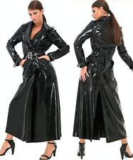 LONG MANTEAU IMPERMEABLE LATEX - FETISH RUBBER COAT