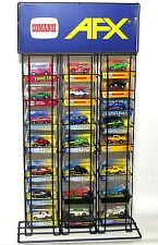 Autoworld, Jl & Afx Slot Car Store Display Holds 24-27 Boxes! Unused Euro Issue.