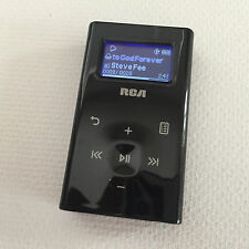 RCA Portable Mini MP3 Audio Black Player Model M2104-A - Tested