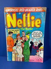 Nellie The Nurse, Vol.1 No. # 28, June 1951, Golden Age Comic,  2.0 GD