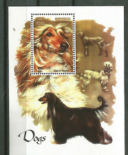 Afghanistan 2003 Souvenir Sheet Dogs MNH