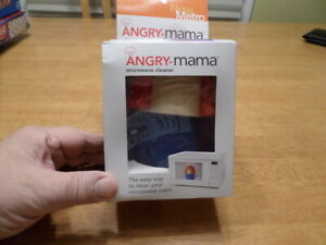 Angry Mama Microwave Cleaner Microwave Oven Steam Cleaner Doll