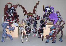 McFarlane Toys Series 3 Spawn Figure Lot Ninja Future Spawn Anglela Vertebreaker