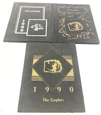 Fancy Farm Kentucky Elementary Gopher Year books lot of 3 1986 1988 1990