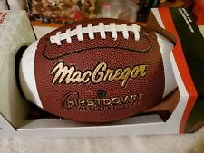 MacGregor Firstdown Official Size Football New In Box